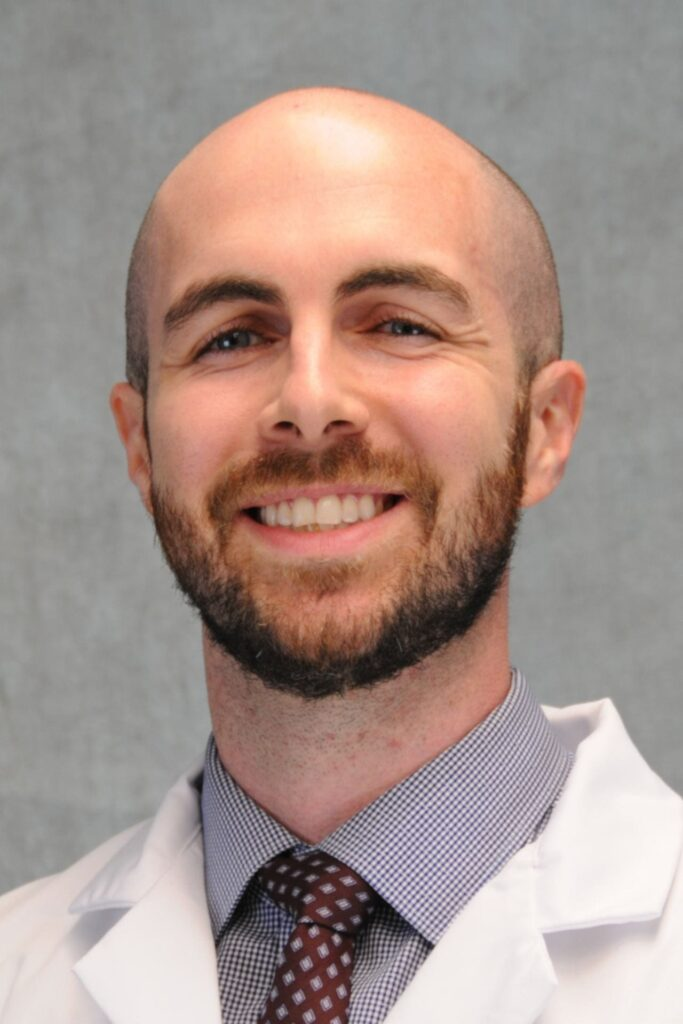 headshot of Tom Barrett, MD