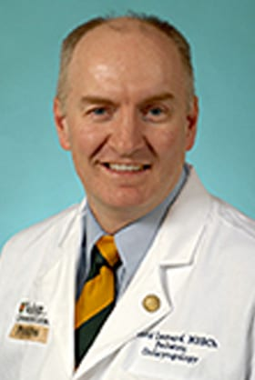 headshot of David Leonard, MB, BCh, BAO