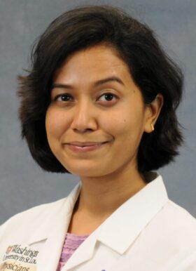 headshot of Parul Sinha, MD, MSCI