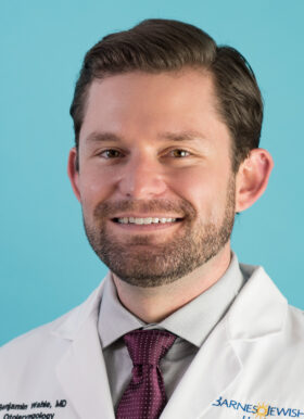 head shot of Ben Wahle, MD