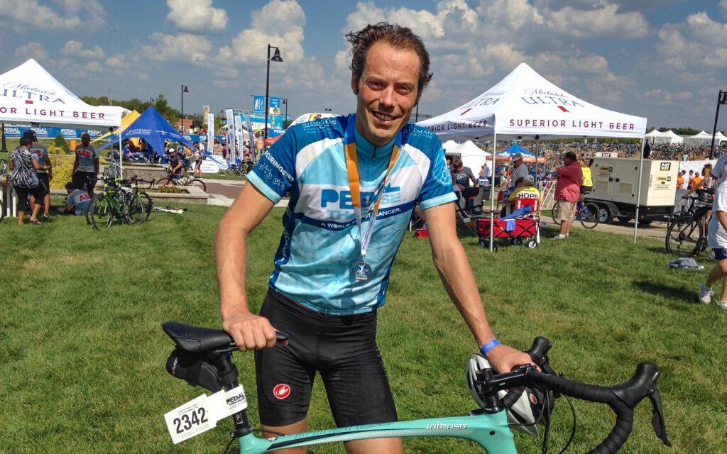 Dr. Patrik Pipkorn cycling