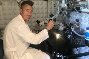 Q&A with Jared Hartsock, research lab supervisor