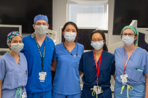 Residents gain valuable experience in surgical simulation lab