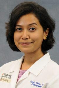 head shot of Dr. SInha