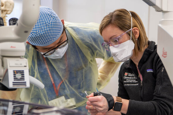Residents expand endoscopic surgery skills in simulation lab