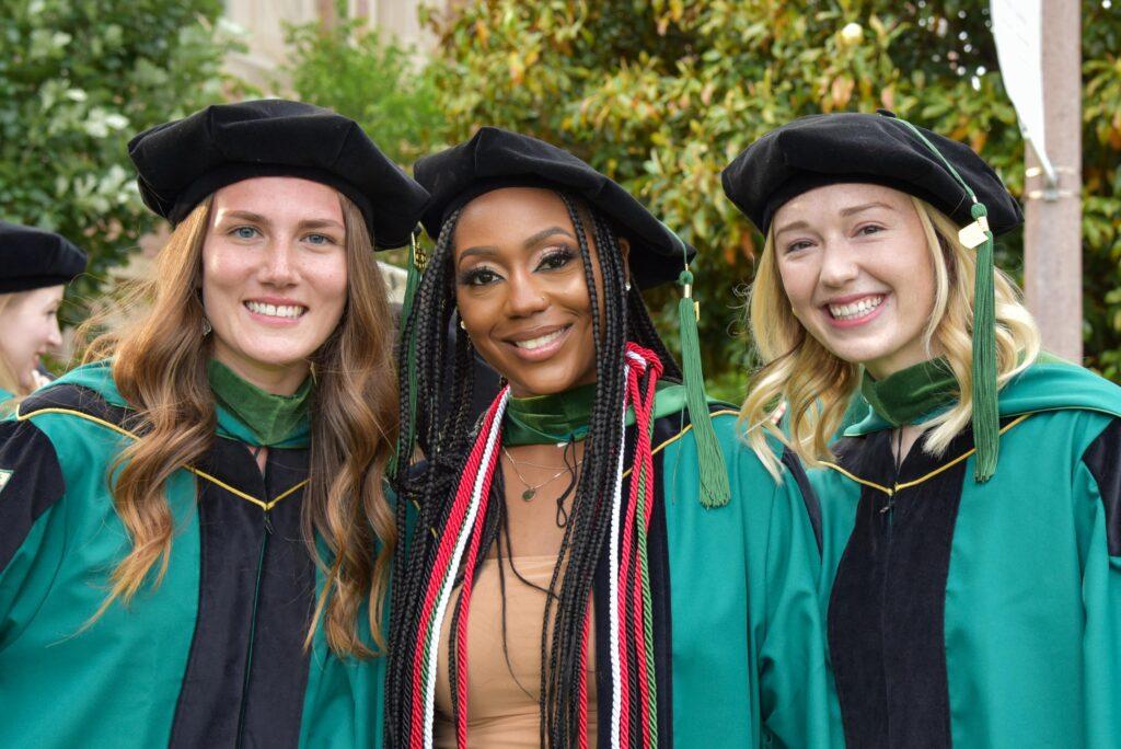 trio of PACS grads