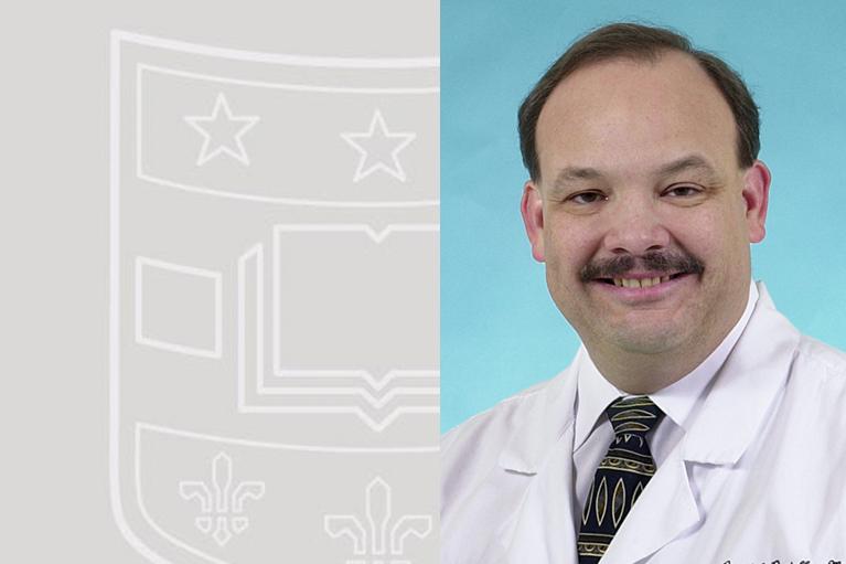 head shot of Dr. Paniello