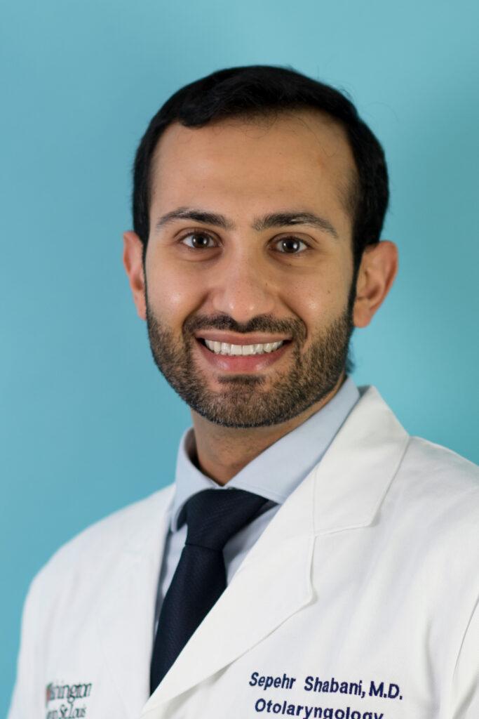 head shot of Sepehr Shabani, MD