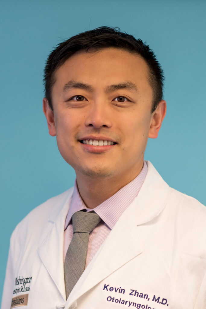 head shot of Kevin Zhan, MD