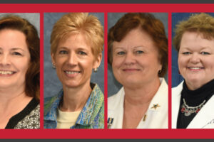 Staff recognized for years of service